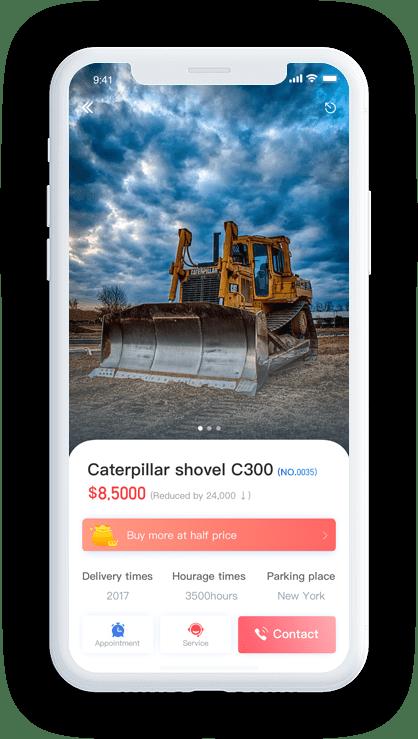 Construction App Screen