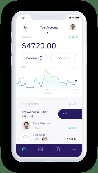 Insurance App Screen
