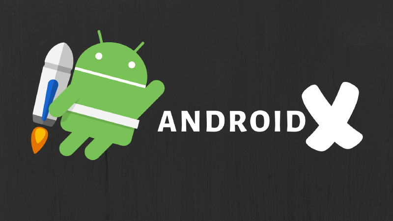 React native + AndroidX
