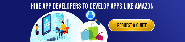 Hire App developers to develop apps like amazon