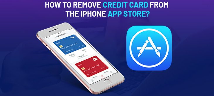 How to Remove Credit Card from the iPhone App Store?